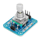 5Pcs 360 Degree Rotary Encoder Module Encoding Module Geekcreit for Arduino - products that work with official Arduino boards
