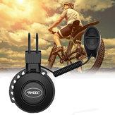 ترقية اثنين USB شحن جرس الدراجة الإلكترونية ضد للماء 50-100dB قابل للتعديل 4 طرق منخفضة الضوضاء الدراجة إنذار