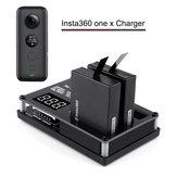 Rcharlance 3 w 1 3X5.22W 3X1.2A Ładowarka Micro USB Szybkie ładowanie akumulatora za pomocą adaptera 12V 3A do aparatu Insta360 ONE X