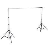 Sistema de suporte para estúdio fotográfico de suporte de fundo com transporte Caso para grampos