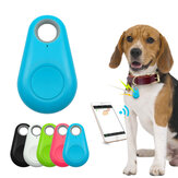 Ranres Pet Smart Bluetooth Tracker Mini Anti-Lost Impermeable Bluetooth Locator Tracer para mascotas Perro Gato Niños Coche Cartera Llavero Accesorios