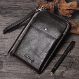 Men Leisure Casual Phone Bag Long Wallet 8 Card Slots