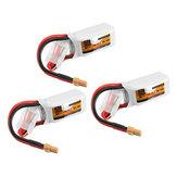 3 Adet ZOP Power 11.1 V 450 mAh 35C 3S Lipo Batarya XT30 Tak