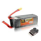ZOP Leistung 22.2V 4200mAh 6S 45C Lipo Batterie XT60 Stecker mit Batteriealarm