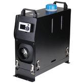 12V 5KW Hava Dizel Isıtıcı Park Isıtıcı Hepsi One LCD Ekran ile Uzakdan Kumanda kontrolünde