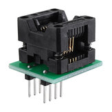 SOIC8 SOP8 auf DIP8 Wide-Body-Seat-Wide-150-Mil-Programmer-Adapterbuchse