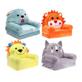 Cartoon Cute Animals Foldable Baby Kids Sofa Chair Cover No Filling Baby Seat Lazy Person Chair Toys