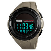 SKMEI 1405 Solar Power stopwatch LED-display Digitaal horloge
