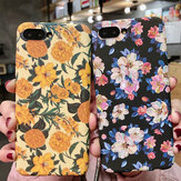 Fashion Flower Pattern Hard PC Shockproof Protective Case for iPhone X / XS / XR / XS Max / 6 / 6S / 7 / 8
