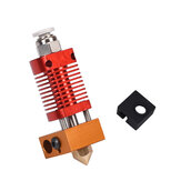Hotend Extruder Kit 1.75mm 0.4mm Boquilla J-head Calentador Bloque para Ender-3 CR10 3D Printer Parts