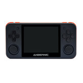 ANBERNIC RG350P 16GB 2500 Games Video Game Console 3.5 inch IPS HD OLeophobic Toughened Screen 64 Bit DDR2 512M Retro Handheld Video Game Player for PS1 GBA SFC MD
