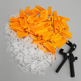 201 stks 2mm tegel leveling spacers systeem set 100 clips + 100 wedges + tang tegels spacer