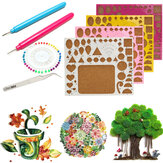 Creations Paper Quilling Kit Pinceta Board Needles Slotted Tools DIY Craft