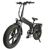 [US DIRECT] ENGWE ENGINE PRO 750W 12.8Ah 48V 20*4in Folding Fat Tire Electric Bike Bicycle 45km/h Top Speed City Mountain E BIKE
