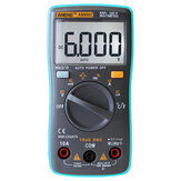 ANENG AN8002 Digital True RMS 6000 Counts Multimeter AC / DC Stroomspanning Frequentie Weerstand Temperatuur Tester ℃ / ℉