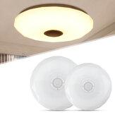 Regulável 36W AC220V LED RGB lâmpada de teto musical APP + controle remoto sala de estar de estudo