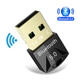 Bakeey USB bluetooth 5.0 Dongle Adapter Wireless Mouse bluetooth Music Audio ricevitore Trasmettitore per PC Altoparlante per PC
