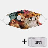 2шт PM2.5 Фильтр одноразовые маски с дыхательной маской