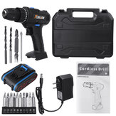 12V 3900mAh 2 Speed Electric Cordless Drill Driver Power Tool w/ Bits Set & Battery