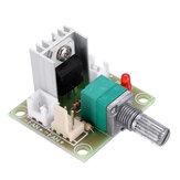 LM317 DC Convertidor lineal Regulador de voltaje descendente Tablero Módulo de control de velocidad DC 3.25-15V a DC1.25V-13V