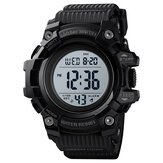 SKMEI 1552 Sport Men Watch Waterproof Data Luminous Week Display Stopwatch Countdown Outdoor Digital Watch