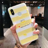 Bakeey Soft TPU Matte Embossed Flower Pattern Protective Case For Xiaomi Mi8 Mi 8