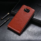 Bakeey Luxury Business Magnetic Vertical Flip Shockproof PU Leather Protective Case for POCO X3 NFC Non-original