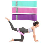 3Pcs/Set Home Fitness Resistance Bands Sport Gymnastics Training Body Shaping Yoga Belt