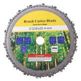 230mm 9 Inch Escova Cortador de lâmina de disco de lâmina de cortador de grama para cortador de grama
