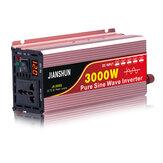 60HZインバーターインテリジェントスクリーンソーラーピュア正弦波パワーインバーター3000WピークDC12V / 24V / 48V / 60VからAC220V240Vコンバーター