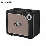 MOOER HORNET BLACK 15 Watt Digital Modeling Combo Guitar Amplifier Speaker 9 Amp Models Built-in Modulation Delay Reverb Effects