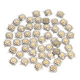 50Pcs DC12V 4 Pins Tact Tactile Push Button Momentan SMD Schalter 5x5x1.5MM