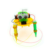 DIY Electric Graffiti Robot DIY Educational Toy Robot Assembled Toy For Children