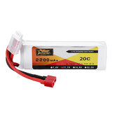ZOP Power 11.1V 2200mAh 3S 20C LipoバッテリーT Plug