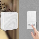 Wireless Doorbell 52 Song Chime 5 Volume Level Door Bell 1/2 Receiver Button