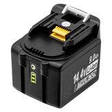 9A 14,4 V Li-Ionen-Ersatz Batterie Elektrowerkzeug zum Aufladen Batterie Für Makita Bl1490 Elektrowerkzeug