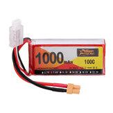 ZOP Power 7.4V 1000mAh 100C 2S Lipo Batterie XT30 Stecker für RC-Hubschrauber