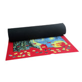90 x 65cm Puzzles Mat Jigsaw Diving Cloth Mat Blanket Impermeable Mat Blanket