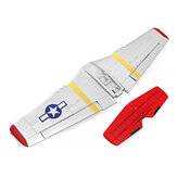 Volantex RC 768-1 Mustang P-51D RC Airplane Spare Part Main Wing Tail Wing