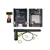 ESP32-CAM-MB-WiFi MICRO USB ESP32 Serial a WiFi ESP32 CAM Placa de desarrollo CH340G 5V Bluetooth + OV2640 Cámara + 2.4G Antena IPX