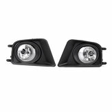 2Pcs Car Fog Light H11 Bulbs Black With Wire Harness Covers Kit For Toyota Tacoma 2012-2015