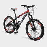[Da Xiaomi Youpin] FOREVER P10 22/24 pollici 24 velocità Youth Mountain Bike Doppio freno a disco Assorbimento degli urti Bicicletta fuoristrada