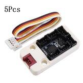 5 Adet M5Stack G / Ç Hub 1-6 Genişletme Kartı Grove I / O Arayüzü Bloklu Geliştirme için IoT MEGA328 Modülü için Arduino