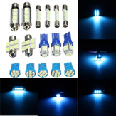 12V Ice Blue Car Interior LED lampada Lettura lampadina di ricambio Dome Luci per Jeep Grand Cherokee WJ 1998-2004