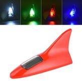 Evrensel 8LED 11 Modu Solar Güç Araba Çatı Anten Lamba Yanıp Sönen Uyarı Işığı 12 V Siyah / Beyaz / Kırmızı / Gümüş / Gri / Mavi / Altın