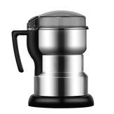 電気コーヒーグラインダーステンレス穀物食品豆挽き粉粉砕機400W