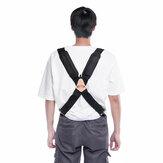 2 `` Geniş Parantez Askı Ağır Erkek Parçalar Ayarlanabilir Pantolon Kemer