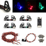 Fishbonne Remote Control Navigation LED Board Light For F330 F450 F550 S500 S550 Frame Kit