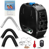 12V / 24V elektrischer Lufterhitzer LCD Schalter mit Fernbedienung Automatische Temperaturregelung Einfache Installation für das Auto