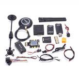 PX4 Pixhawk Contrôleur de vol 32bit PIX 2.4.8 433 MHz Télémétrie radio M8N GPS + OSD + PM + sonnerie + PPM + I2C